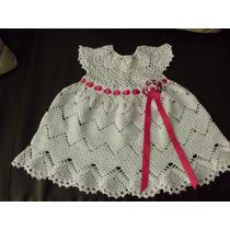 Vestidos Para Niña Y Bebe Tejidos A Crochet