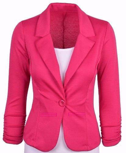 5ac60c99a1 Blazer Feminino Pink - R  34