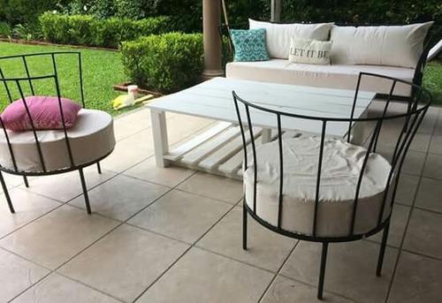 juego de sillones para interior y exterior