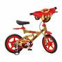 Bicicleta X-bike Aro 12 Homem De Ferro Bandeirante