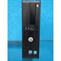 Computador Dell Optiplex 760 Core 2 Quad,4gbmem Ram,250gb Hd
