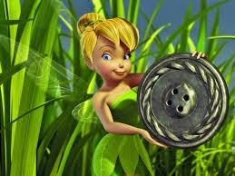 20 Sininho Tinker Bell Bustos 10cm Para Tubete