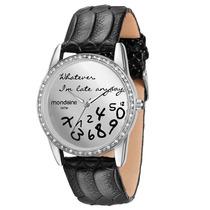 Relógio Mondaine Números Em Queda - Frete Grátis!!!