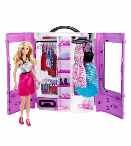 Barbie Ropero Closet De Lujo Con Muñaca Juguetes Niñas - S/. 170 ...