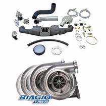Kit Turbo Pulsativo Opala 6cc Com Turbo .50 Carburado