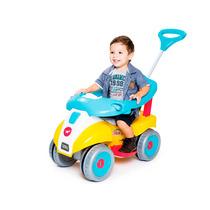 Carrinho De Passeio Super Comfort Plus Calesita Azul/amarelo