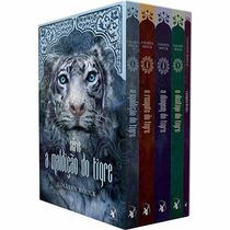 Box Coleção A Maldição Do Tigre 5 Volumes - Pronta Entrega