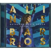 Cd Aline Barros - Extraordinária Graça - Ao Vivo (original)