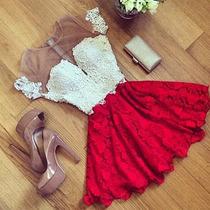 Sexy Vestido Rojo