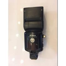 Flash Nikon Sb 28 Adaptado Com Sapata Para Uso Slave