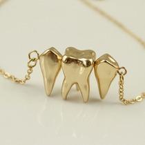 Collar Cadena Para Dentistas Odontologo Regalo Dientes/muela