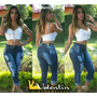 Calça Capri Feminina Cintura Alta Hot Pant Etonada Lojasbh