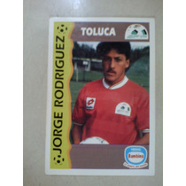Tarjeta Bambino Jorge Rodriguez Toluca Futbol Mexico