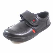 Zapatos Kickers 100% Originales De Cuero Negro Talla 35