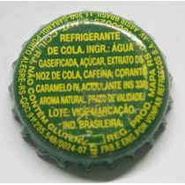 Tampinhas Antigas - Refrigerante Coca-cola (escrita Amarela)