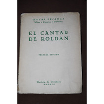 El Cantar De Roldan , Ed . Revista De Occidente