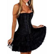 Corset ,corselet Corpete + Saia Aproveite!!! Importado.