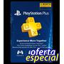 Tarjeta Playstation Psn Plus 3 Meses Usa - Ps4 Ps3 Ps Vita