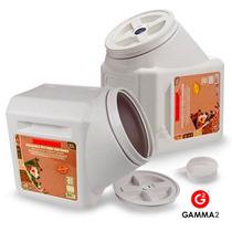 Contenedor Gamma Vault Hermetico 27 Kgs Alimento Perro Gato