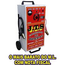 Carregador De Bateria Automotivo 50ah + Auxiliar Partida Jts