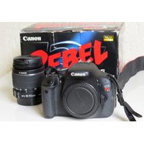 Câmera Canon T3i + Lente 18-55mm + Filtros
