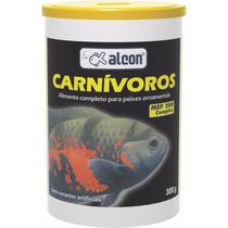 Ração Para Peixes Carnívoros Alcon 300g