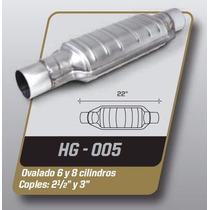 Catalizador Gas Lp Universal Ovalado 8 Cil