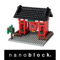 Nanoblocks - Monumentos Nbh - Lampara Japonesa Kaminarimon