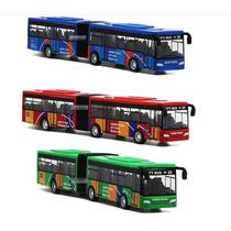 Miniatura Ônibus Articulado 1:64
