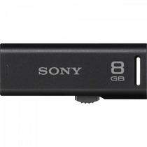 Pen Drive 8gb Usm8gr/b Preto Sony