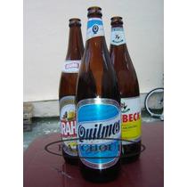 Botellas Cerveza Vacias Marrón Antiguo Retornable 970 Cm3