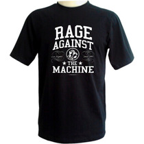 Camiseta Rage Against The Machine - Preta - Rock Hardcore