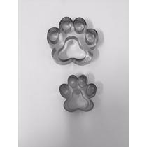 Jogo Cortador Patinha De Cachorro Com 2 Peças- Inox