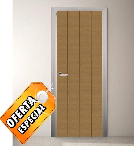 Puerta de madera entamborada disponibles ya 70 80 90x210 for Puerta entamborada