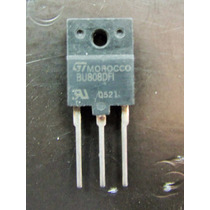 Transistor Bu808dfi Bu 808dfi Original 5 Pçs Retirado Placa