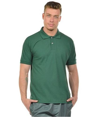 5447558472b38 Camisa Polo Masculina Básica Algodão Piquet Alta Qualidade - R  39 ...