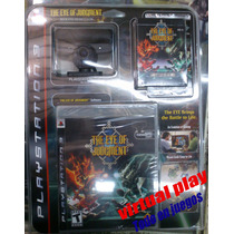 The Eye Of Judgment Ps3 Kit Eye Cam+juego+mazo+tablero!!!