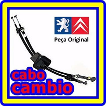 Seletor Cambio Marcha Citroen C4 C5 1.4/1.6 16v Jogo Cabo