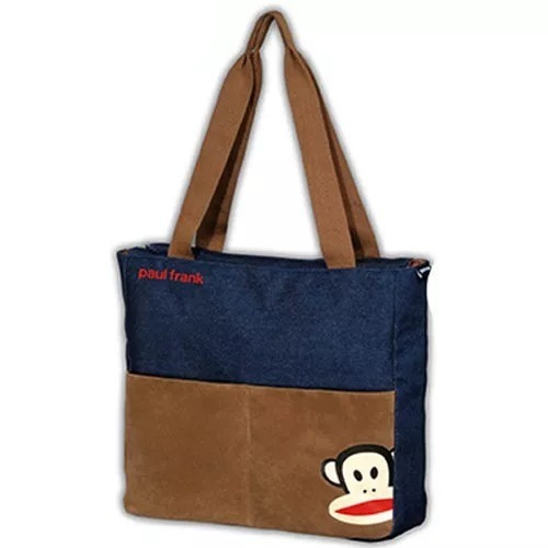 c86248132 Bolsa Sacola Paul Frank Jeans Foroni - R$ 55,85 em Mercado Livre