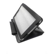 Capa Couro Tablet Cce Motion Tr71 Tr72 + Película Vidro Top