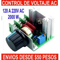 Control De Motores Resistencias Focos 2000 Watts Dimmer