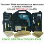 Taladro Percutor Atornillador 710w Profecional C/ Accesorios