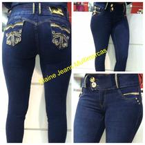Calça Afront Jeans Levanta Bumbum Estilo Pitbull Tamanho 36