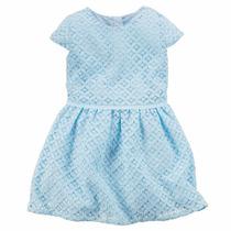 Carters Hermoso Vestido Niña Talla 4 Años Envio Gratis
