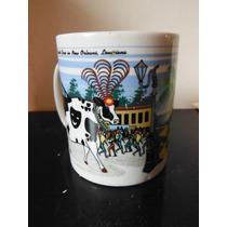 Taza Road Trip Cows 2000 Collectible Mugs Vacas Souvenir