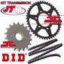 Kit De Transmision Honda Cbr 600 F2 F3 Jt Cadena Did En Fas