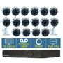 Kit Dvr Tetra 16 Canal + 16 Camera Ful Ahd 1080p 2mp Wdr Osd