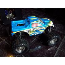 Camioneta Monster Truck A Gasolina Nitro Enorme Escala 1/8