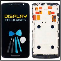 Pantalla Display Touch Moto X Play C/marco 6 Meses Garantia