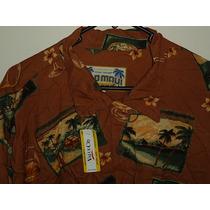 Camisa Hawaiana Old Maui Brand Importada 100% Rayon Nueva Xl